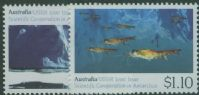 AUS SG1261-2 Australian-Soviet Scientific Co-operation in Antarctica set of 2